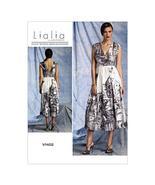 VOGUE PATTERNS V1402 Misses' Dress Sewing Template, Size A5 (6-8-10-12-14) - $3.68
