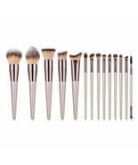 Makeup Brush Set 14Pcs/lot Synthetic Foundation Powder Concealers Eye Sh... - $24.04