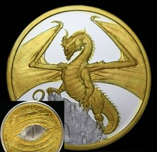 The Welsh World Of Dragons 24K Gold + collectors capsule 1 ounce OZ - $83.22