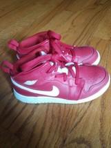 Nike Air Jordan Boys Toddler 10C Red & White Shoes  - $21.78