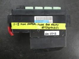 11 12 13 Mini Cooper Fuse Box Relay #924094301 - $49.50