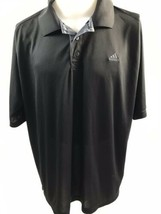 Adidas Black Short Sleeve Polo Men's 2XL - $24.94