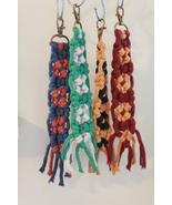 Hogwarts House Colored Macrame Keychains - 4-pack - $40.00