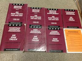 2003 Dodge RAM Truck 1500 2500 3500 Service Shop Reparatur Manual Set Fa... - $356.34