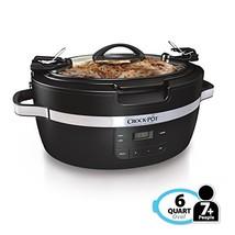 Crockpot SCCPCT600-B Thermoshield Slow Cooker, 6 Quart, Black - €85,26 EUR