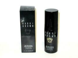 Bobbi Brown Skin Nourishing Glow Foundation 3 BEIGE  Full Sz new in box - $56.38