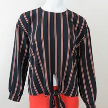 New LUSH Womens Striped Blouse Small - $29.65
