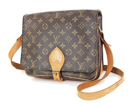 Authentic LOUIS VUITTON Cartouchiere GM Monogram Shoulder Bag Purse #34836 - $479.00