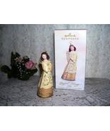 HALLMARK ORNAMENT JOYFUL TIDINGS ANGEL GILDA MIB 2005 - $16.82