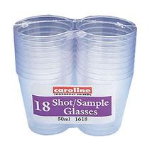 50ml Shot Sample Glass Assortedes - $9.29