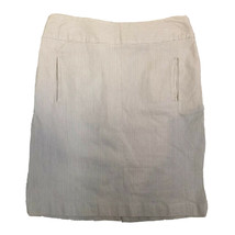 sandro sportswear white stripe Career pencil skirt Size 6 - $14.84