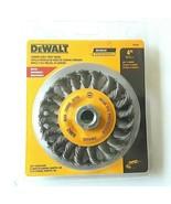 DEWALT-DW4930 4 In. x 5/8 to 11 In. Arbor Carbon Cable Twist Wire Wheel - $9.49