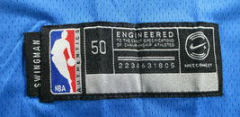 LUKA DONCIC / AUTHOGRAPHED DALLAS MAVERICKS PRO STYLE BASKETBALL JERSEY / COA image 7