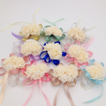 YO CHO 15 Pcs/lots Artificial Brides Wedding Hand Flowers - $33.95