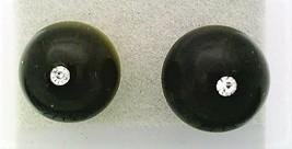 Blue Tiger Eye Crystal 10mm Stud Earrings 1 - $8.05
