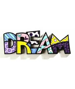 "Romero Britto the word ""Dream"" Table Shelf Decor  - €44,44 EUR"