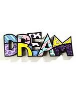 """Romero Britto the word """"Dream"""" Table Shelf Decor - $49.49"""