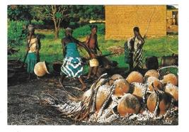 Africa Potteries Cooking Aftique en Couleurs IRIS Paris 4X6 Postcard  - $6.69
