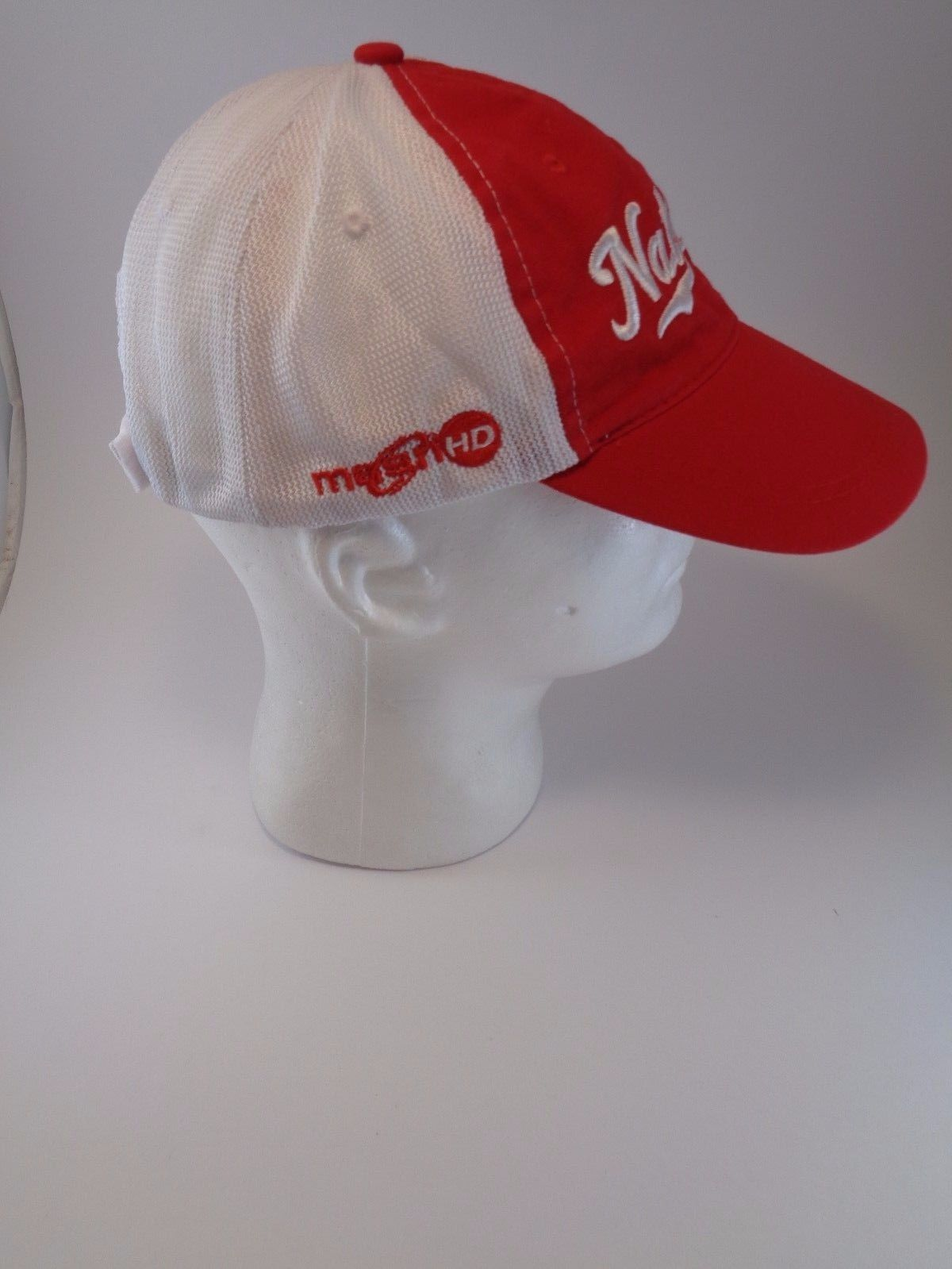 separation shoes 6b9d7 977a2 promo code for washington nationals mlb baseball red white trucker promo hat  cap one size masn