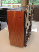 NEW CUSTOM Solid Wood Side Panels Reel Recorder Studer Technics Otari - $117.81