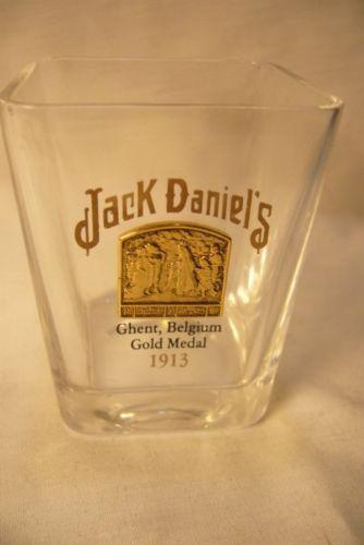 Jack Daniels Ghent Belgium Gold Medal Shot Glass new