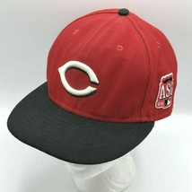 Cincinnati Reds 2015 All Star Game Black Red 2 Tone New Era Fitted Hat 7... - $39.99