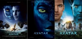 "Avatar Movie Poster James Cameron 2009 Film Print 13x20"" 24x36"" 27x40"" 3... - $9.80+"