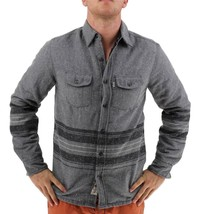 NEW LEVI'S MEN'S SHAN CLASSIC LONG SLEEVE STRIPED WOOL SHIRT CASTLEROCK-3LDLW205 image 1