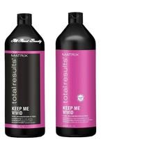 Matrix Total Results Keep Me Vivid Shampoo & Conditioner DUO Liter 33.8 oz - $35.06