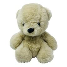 "Vintage World of Smile 1983 Plush Tan Teddy Bear Soft 9"" Soft Stuffed Animal Toy - $14.00"