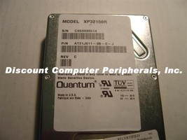 Quantum XP32150R 2GB 3.5in SCSI 80PIN Drive Tested Free USA Ship Our Drives Work