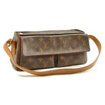 LOUIS VUITTON Monogram Viva Cite MM Shoulder Bag M51164 LV Auth 10005 - $360.00