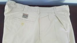 Men's POLO Ralph Lauren Classic Chino Ivory Shorts Size  34 100% Cotton  - $19.99