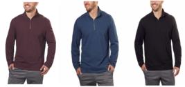 Calvin Klein Jeans Mens ¼ Zip Pullover, - $15.99
