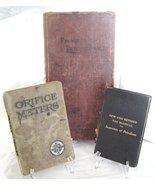 Vintage 1930's Petroleum Meter Manuals Lot of 3 - $29.99
