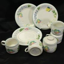 Studio Nova Barrier Reef Cups Salad Plates Sugar Bowl Underplate Lot of 8 - $39.19