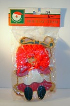 New Vintage Raggedy Ann On A Swing Kurt Adler Christmas Ornament Nip - $11.87