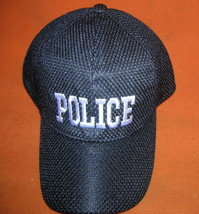 "QDDFMY ""Police""  Baseball Cap - Black  OSFM UPC:710534486880 - $12.87"