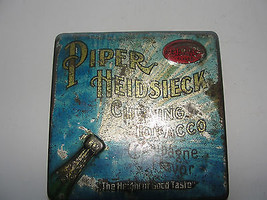 ANTIQUE,PIPER HEIDSIECK CHEWING TOBACCO ADVERTI... - $42.75