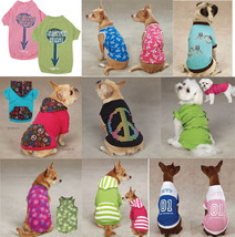 CLOSEOUT Dog Tee T-Shirt Tank Tops Pet  Casual Canine Zack Zoey Pullover - $7.99