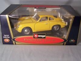 Porsche 356 B Coupe 1961 1:18 scale diecast Burago Bburago Special Collection - $45.08