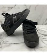 Heelys 7410 Crest Black Lace Up Roller Skate Wheel Sneakers Boys shoes Y... - $18.66