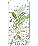 Monoprice Seafoam Green Royal Crystal 3D Diamante Cover for iPhone 5/5s/SE - $11.88