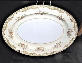 Noritake ChinaNana Rosa Pattern # 682 Serving Platter (Tray) AB 336-M Vintage