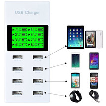 New 8 Ports USB Home Wall Travel AC Power Charger Adapter for Smartphone... - $13.50