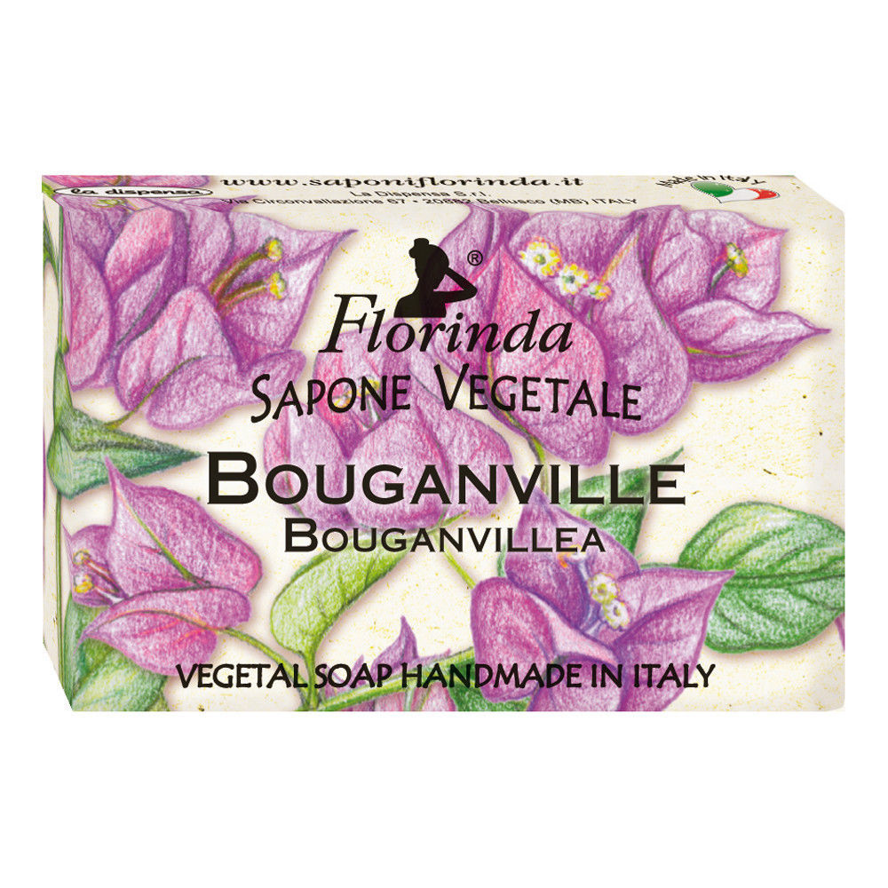 Florinda Flowers Bouganvillea Vegetal Soap Bar 50g 1.76oz image 1