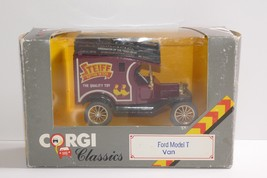 Corgi Classics Ford Model T Van Die Cast Steiff Model Car Toy w/Box C865/11 - $12.19
