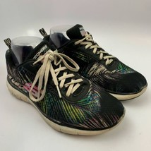 Skechers 8 US / 38 EU / 5 UK  Women Athletic Sneakers Shoes Multi Color Flexsole - $19.77