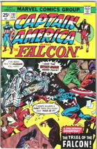 Captain America Comic Book #191 Marvel Comics 1975 VERY FINE- - $7.14