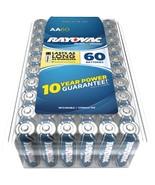 Rayovac Alkaline Batteries Reclosable Pro Pack (aa, 60 Pk) RVC81560PPF - $46.64